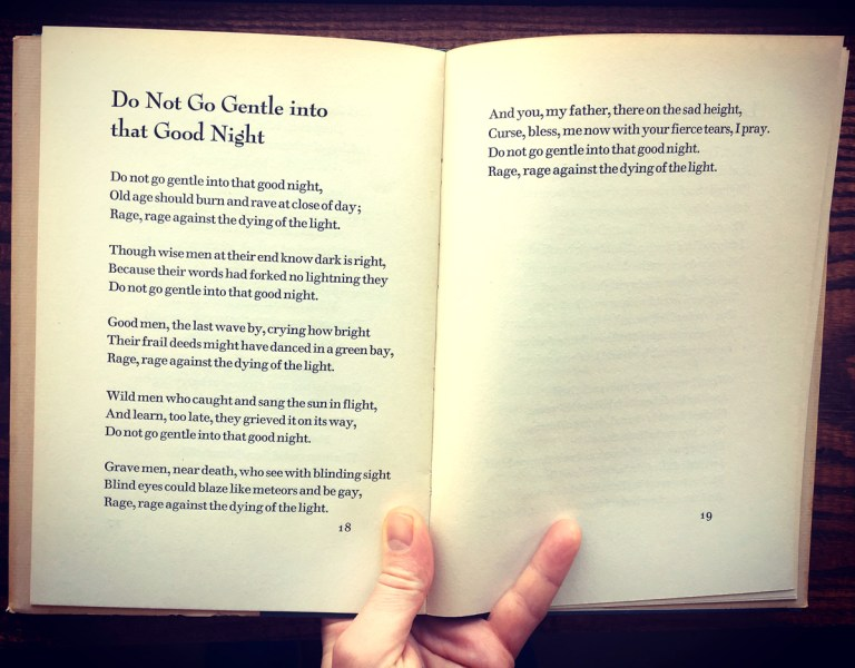 On Dylan Thomas | Halcyon